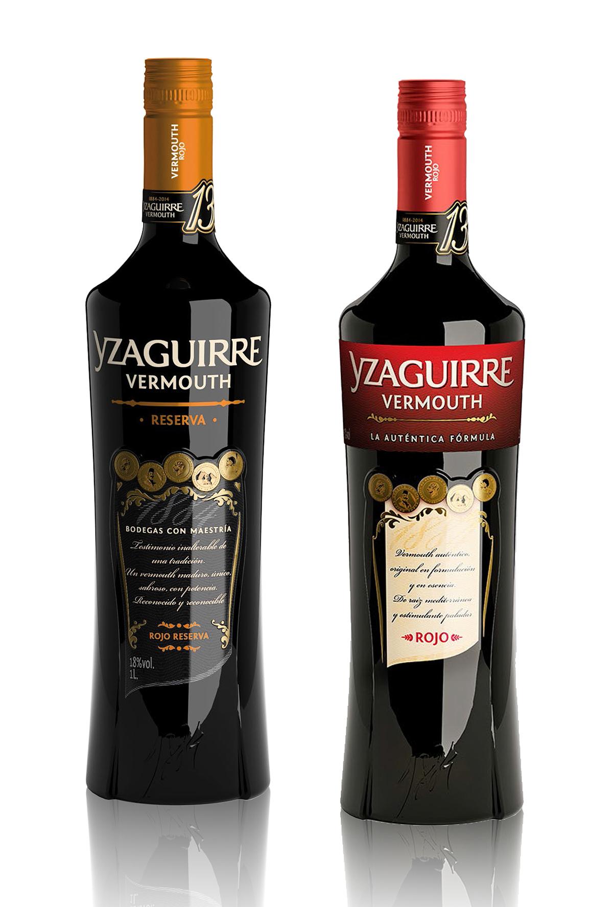 Yzaguirre - Vermouth Reserva et Rojo