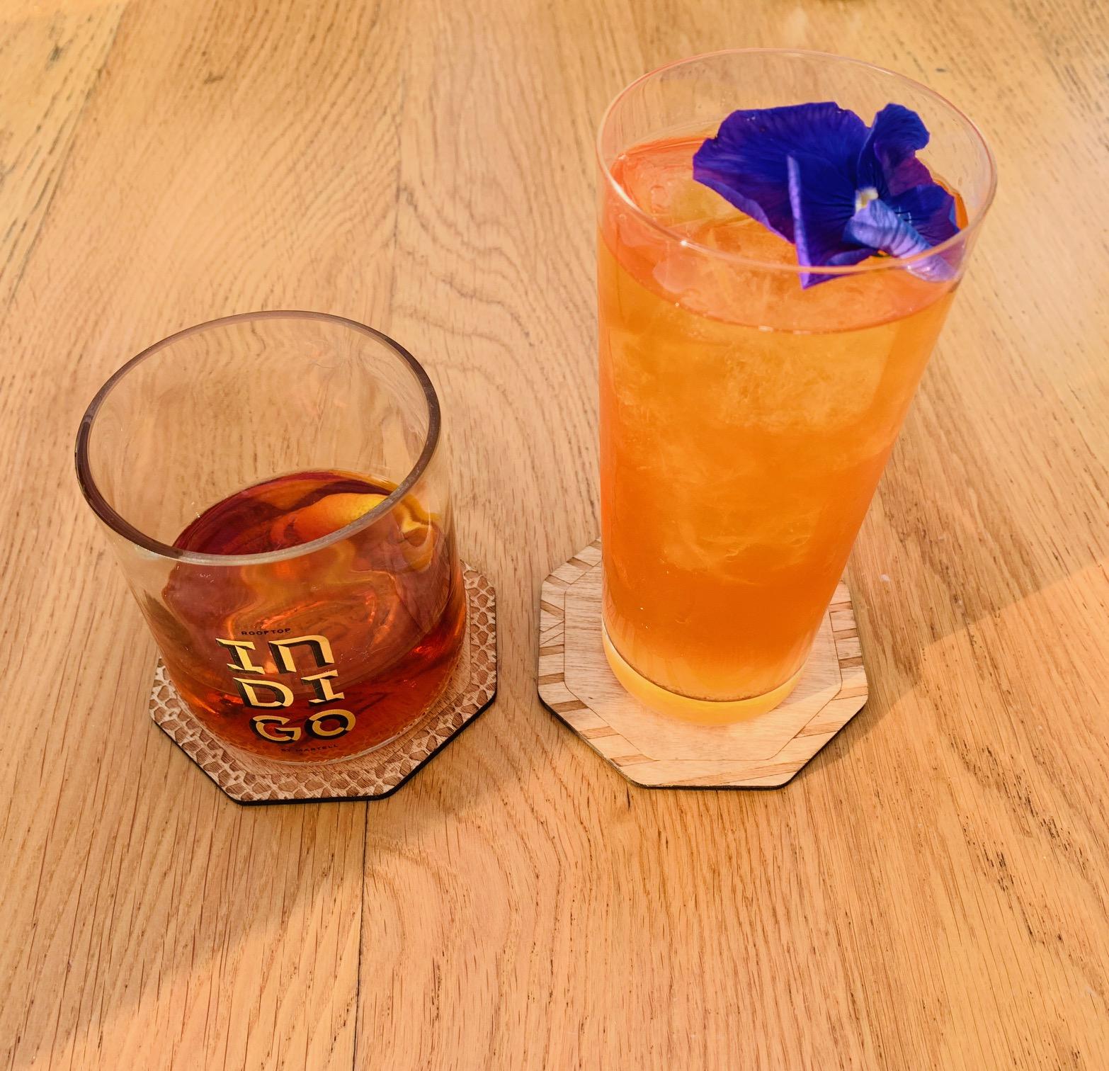 Indigo Verre à cocktail