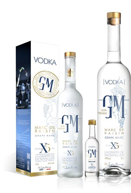 Vodka La Grappe De Montpellier